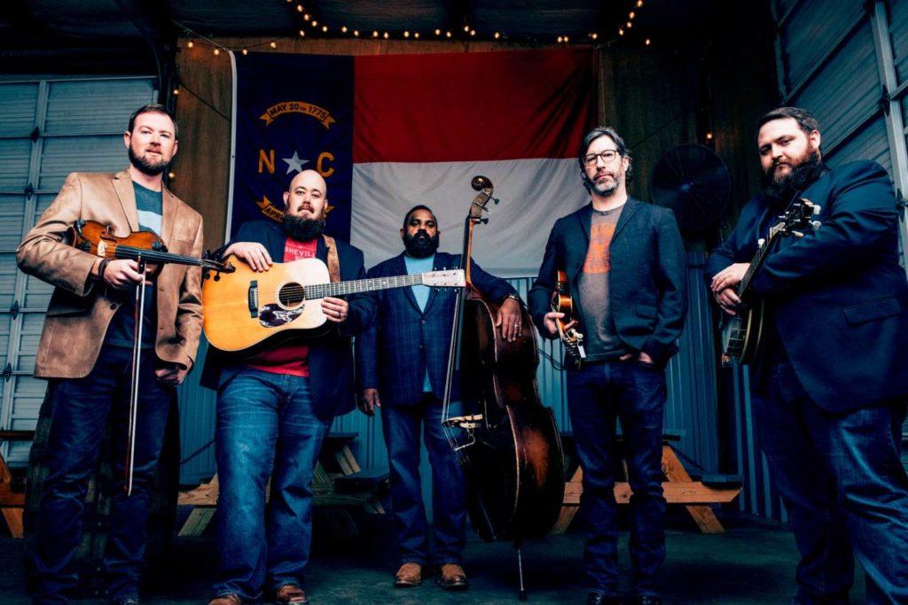 Unspoken Tradition - left to right: Tim Gardner, Audie McGinnis, Sav Sankaran, Ty Gilpin, Zane McGinnis. Photo by Sandlin Gaither.